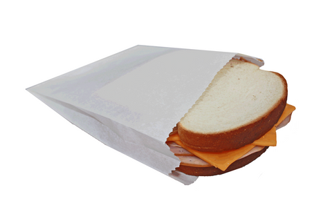 Sandwich Bags, 6 x 1 x 6.75, 1000pcs, #Regular