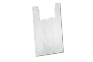 Shopping Bags, LowDensity,  White,  23 lbs, 20x23 , 1000pcs,  #S6W