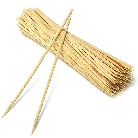 Bamboo Skewers,  8'',  100 x 100pcs