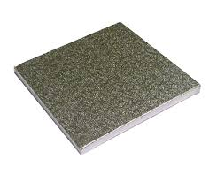 "Cake Board, #Square, St, Edge Silver,  8"" x 0.07, 150 pcs"