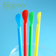 Spoon Straw, Plastic,  200 pcs,  8""