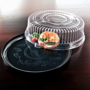 Catering Tray Combo Round SOFT Plastic  #16''  25 Sets