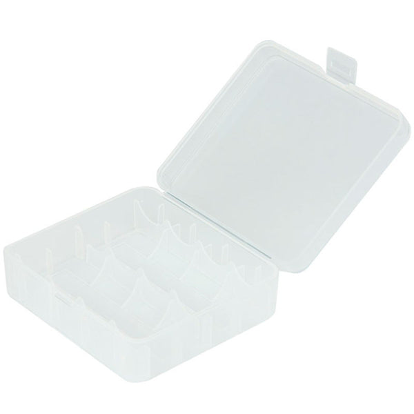 Plastic Storage Case - 18650 / 26650