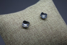 Black and Gold Keum Boo Stud Earrings, Ready to Ship - Ashley Lozano Jewelry