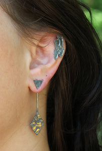 Custom Footprint Earrings - Ashley Lozano Jewelry