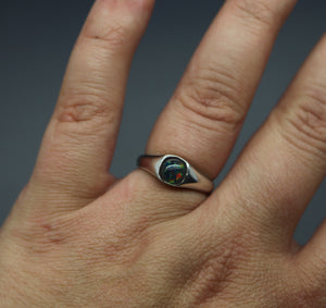 Handmade Cremation Ashes Ring