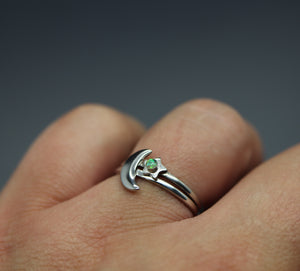 Sterling Silver Cremains Ring