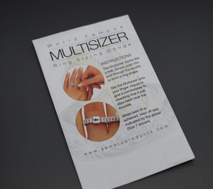 Reusable Ring Sizer Tool