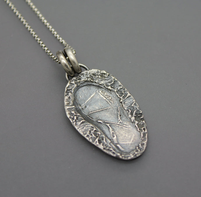 Silver Custom Runner's Gift Necklace - Ashley Lozano Jewelry