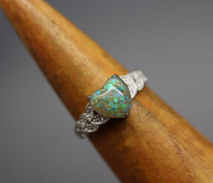 Silver Heart Cremation Jewelry