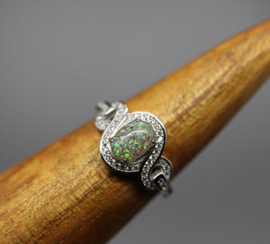 cremation ring for her