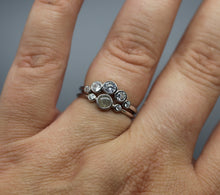 Handmade cremains ring