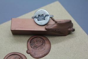 Custom Wax Seal Ring - Ashley Lozano Jewelry