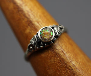 Leaf Cremation Ring