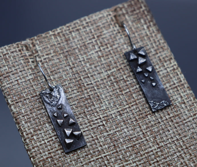Asymmetrical Abstract Earrings