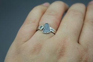 Baby Footprint Ring, Mom Jewelry - Ashley Lozano Jewelry