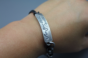 Personalized Signature Bracelet - Ashley Lozano Jewelry
