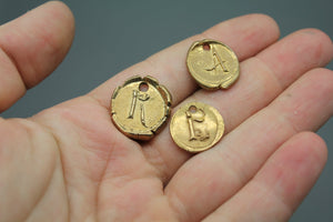 Bronze Wax Seals, Initials - Ashley Lozano Jewelry