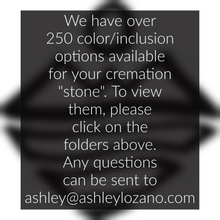 Handmade cremation jewelry for her