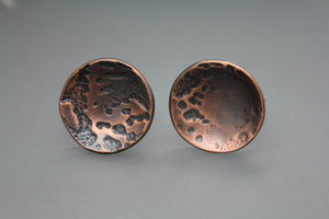 Domed Moon Ring in Copper - Ashley Lozano Jewelry