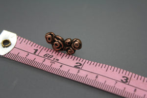 Rose Bouquet Cartilage Earring In Copper - Ashley Lozano Jewelry