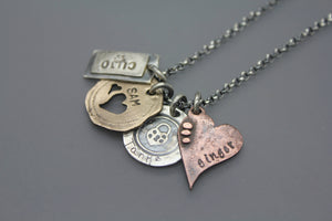 Handmade Pet Cremation Pendant Necklace - Ashley Lozano Jewelry