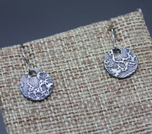 Custom Lace Imprint Earrings - Ashley Lozano Jewelry