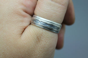 Sound Wave Ring - Ashley Lozano Jewelry