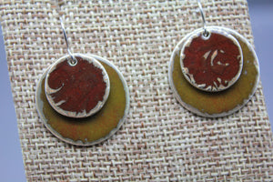 Handmade Enamel Earrings - Ashley Lozano Jewelry