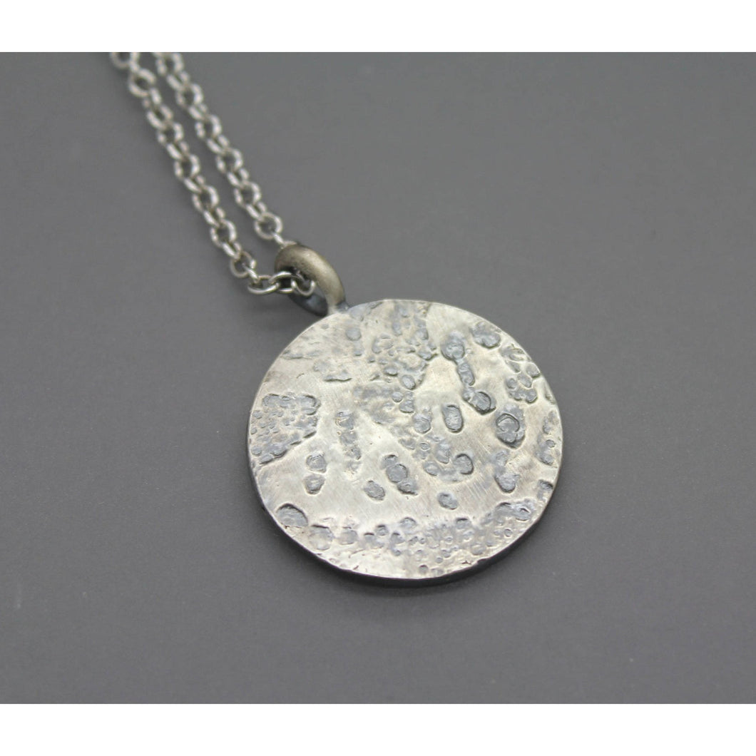 Memorial Necklace Made From Ash In Silver - Ashley Lozano Jewelry
