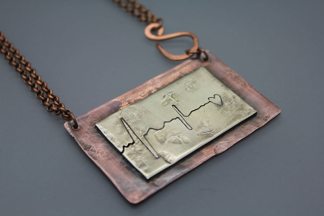 Heartbeat Necklace - Ashley Lozano Jewelry