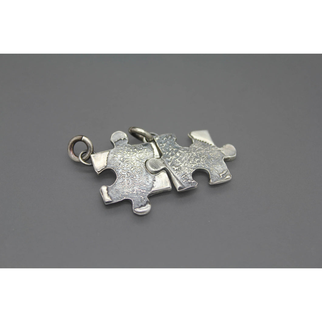 Puzzle Piece Fingerprint Jewelry - Ashley Lozano Jewelry