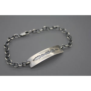 Custom Sound Wave Bracelet - Ashley Lozano Jewelry