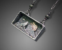 Wolf Necklace in Shadowbox - Ashley Lozano Jewelry