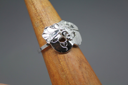 Carnival Mask Ring - Ashley Lozano Jewelry
