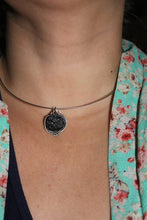 Silver Tektite Necklace - Ashley Lozano Jewelry