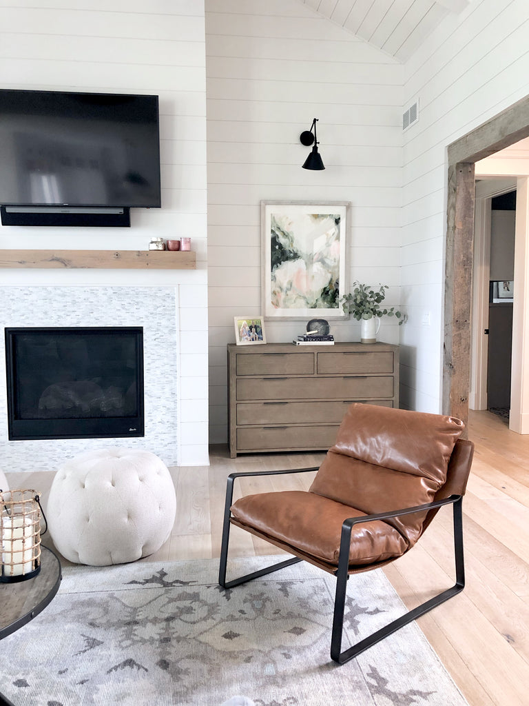 Contemporary Country // A White Modern Farmhouse Outside of Ames IA