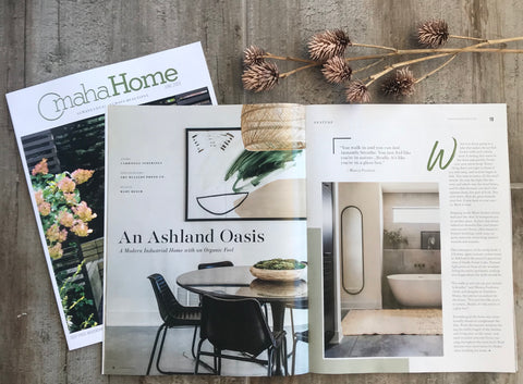 Omaha Home Magazine Features Our Client's Ashland
