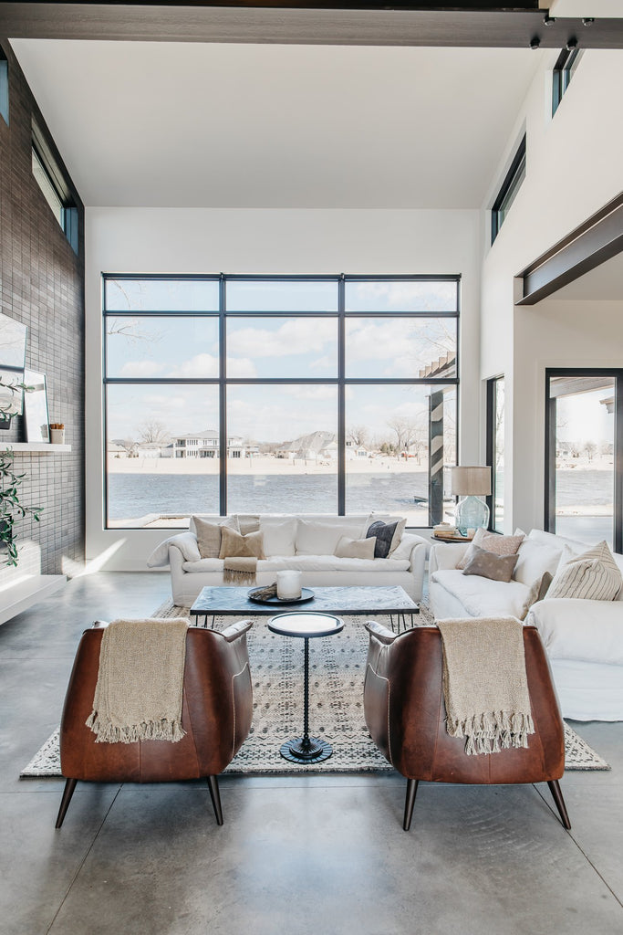 Lakefront Home Reveal // Downtown Loft Vibe Meets Coastal Style