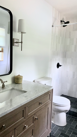 Bennington Bathroom Makeover // A Before & After