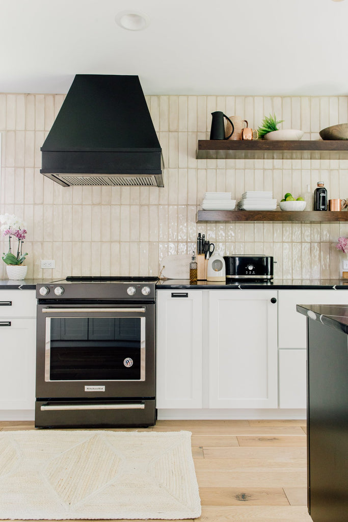 A Warm, Modern Kitchen: Before & After