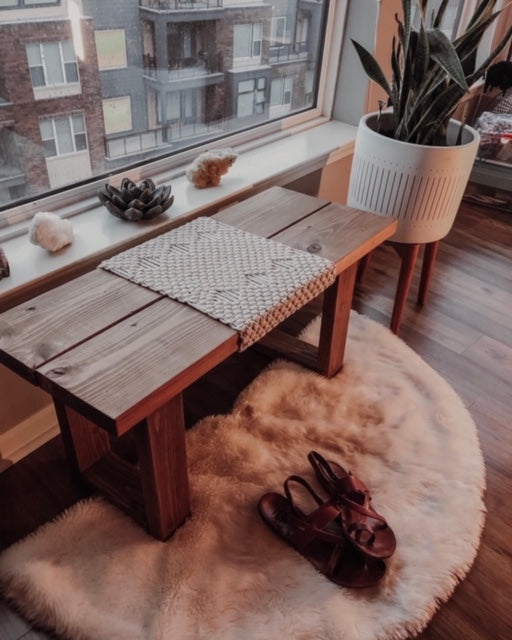 As one of my first connections in Kansas City, Nicci Wyels immediately impressed me with her gorgeous, hand-crafted wood furniture. I knew I had to learn more about her business and vision — today we are sharing her unique perspective towards interior design!