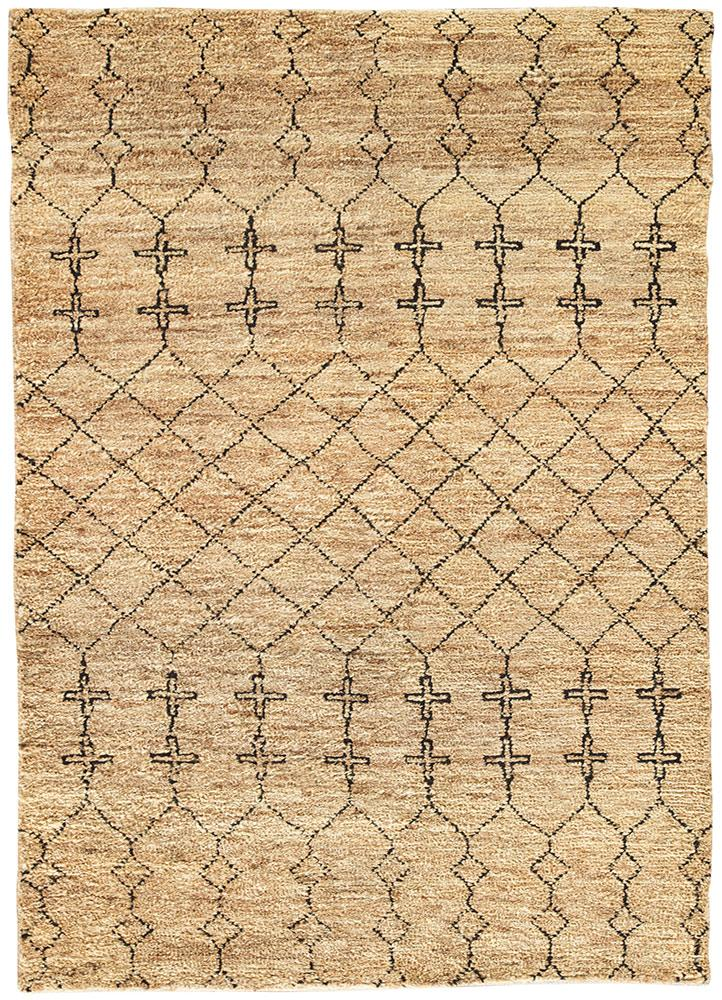 Known for environments that are sleek and serene with a touch of glamour, designer Nikki Chu takes on the desert for an all-natural rug crafted in a blend of jute and wool that appears faded by time and unrelenting sun.