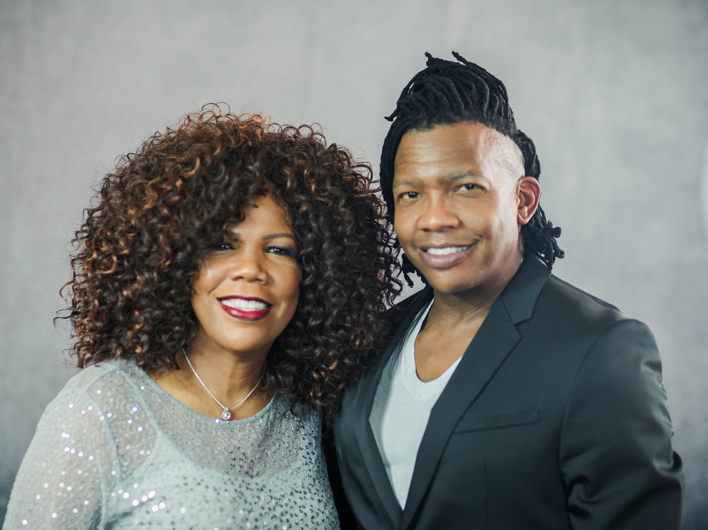 Lynda Randle and Michael Tait perform at the 2020 National Tree Lighting Ceremony