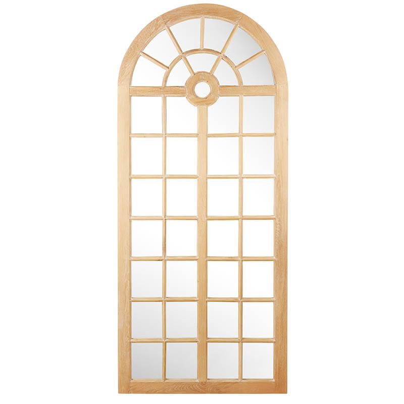 Wooden Cathedral Mirror