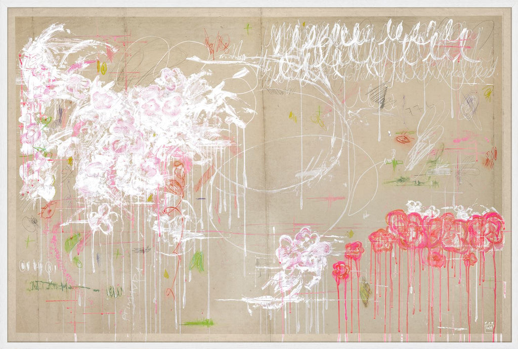 """The Twombly"" Framed Canvas Art"