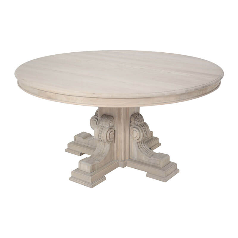 Rotund Dining Table - Amethyst Home