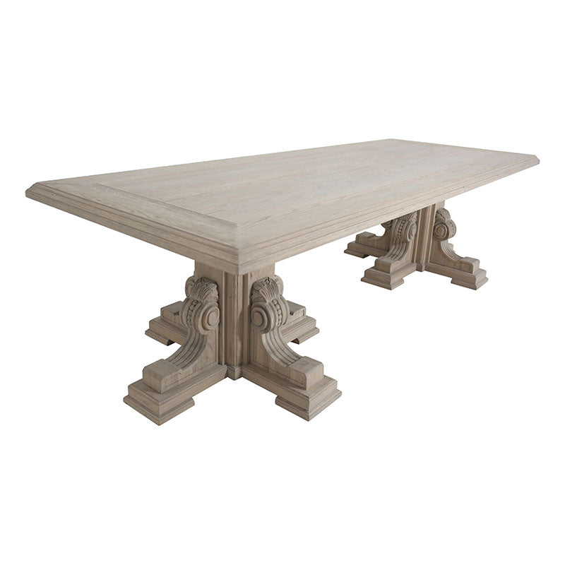 Grand Dining Table - Amethyst Home