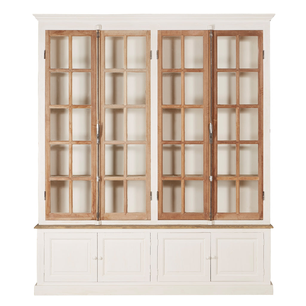 Molly 4-Door Bakery Cabinet - Amethyst Home
