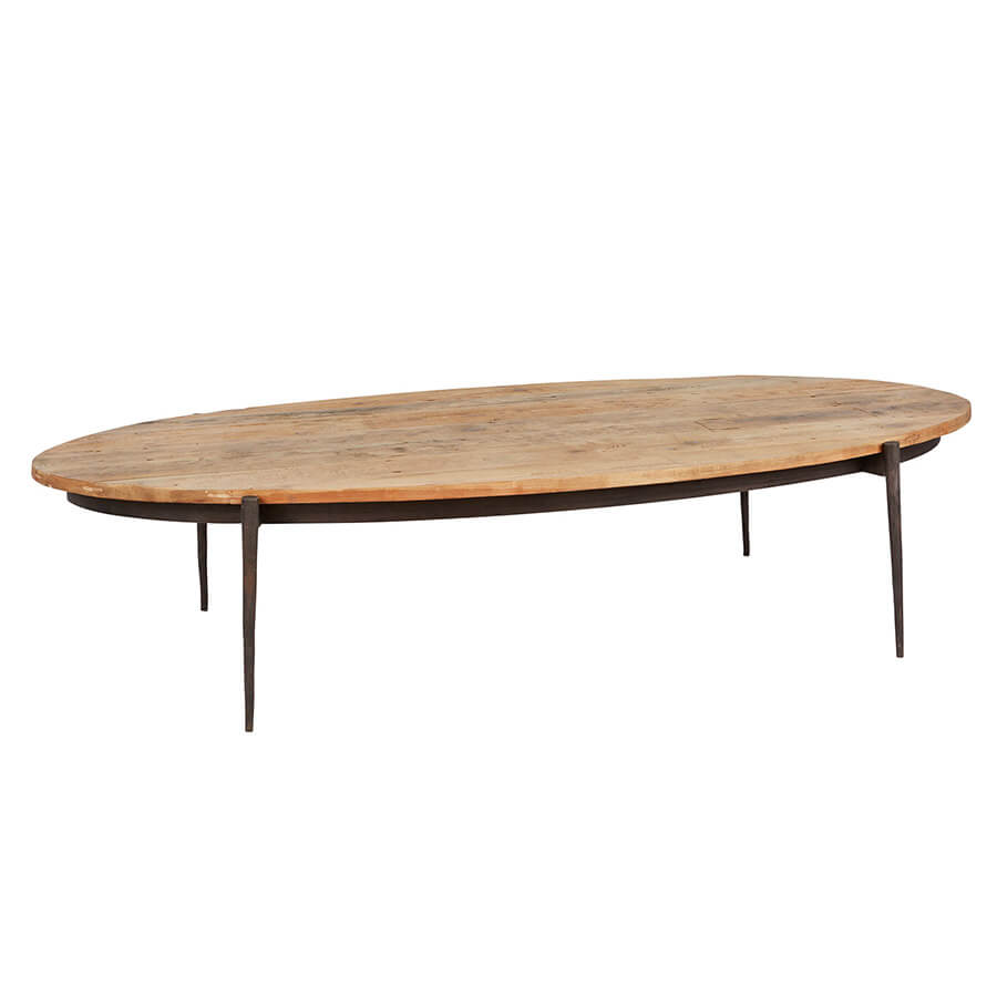 Surfboard Coffee Table - Amethyst Home